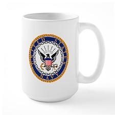 Navy Emblem Mug