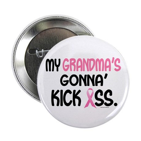 """Gonna' Kick Ass 1 (Grandma) 2.25"""" Button"""