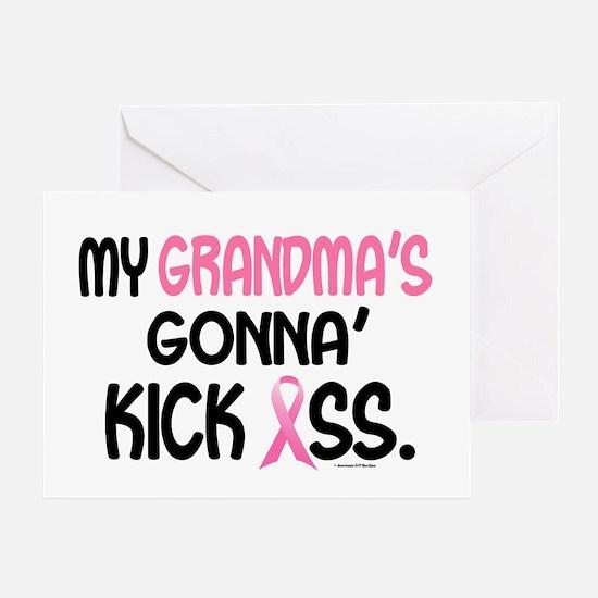 Gonna' Kick Ass 1 (Grandma) Greeting Card