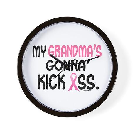 Gonna' Kick Ass 1 (Grandma) Wall Clock
