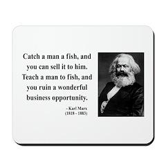 Karl Marx 4 Mousepad