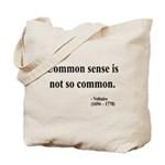 Voltaire Text 11 Tote Bag