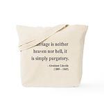 Abraham Lincoln 34 Tote Bag
