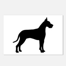 Great Dane Postcards (Package of 8)