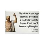 Socrates 14 Rectangle Magnet (100 pack)