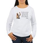 Socrates 14 Women's Long Sleeve T-Shirt