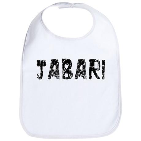 Jabari Faded (Black) Bib