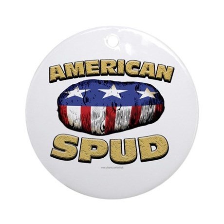 American Spud... Ornament (Round)