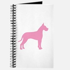 Pink Great Dane Journal
