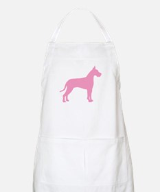 Pink Great Dane BBQ Apron