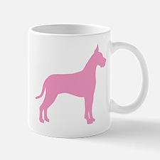 Pink Great Dane Mug