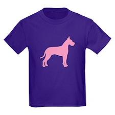 Pink Great Dane T