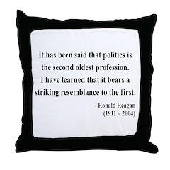Ronald Reagan 8 Throw Pillow