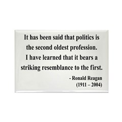 Ronald Reagan 8 Rectangle Magnet