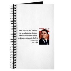 Ronald Reagan 8 Journal