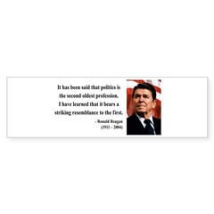 Ronald Reagan 8 Bumper Bumper Sticker