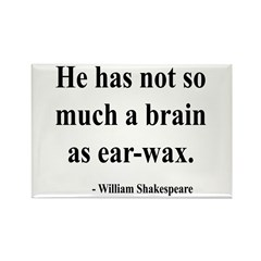 Shakespeare 25 Rectangle Magnet (100 pack)