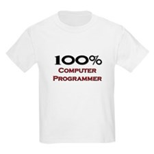 100 Percent Computer Programmer T-Shirt