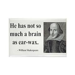 Shakespeare 25 Rectangle Magnet (10 pack)