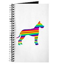 Rainbow Great Dane Journal