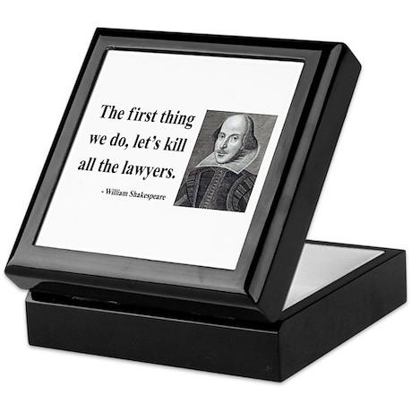 Shakespeare 14 Keepsake Box