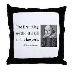 Shakespeare 14 Throw Pillow