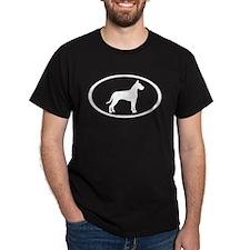 great dane oval T-Shirt