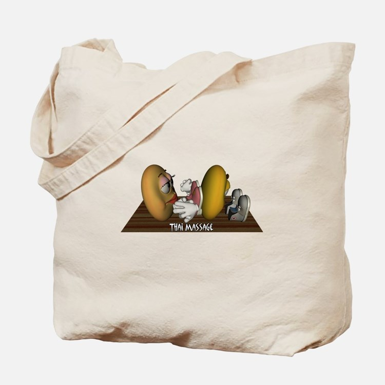 Thai Massage Smiley Tote Bag