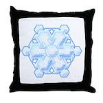 Flurry Snowflake VIII Throw Pillow