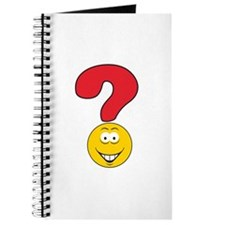 Smiley Face Question Mark Design Journal