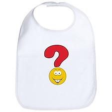 Smiley Face Question Mark Design Bib
