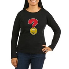 Smiley Face Question Mark Design T-Shirt