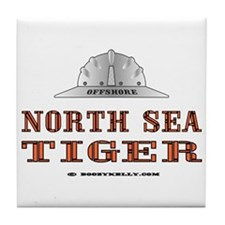 North Sea Tiger Tile Coaster