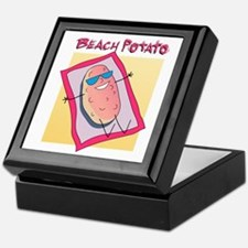 Beach Potato Keepsake Box
