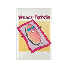 Beach Potato Rectangle Magnet (10 pack)