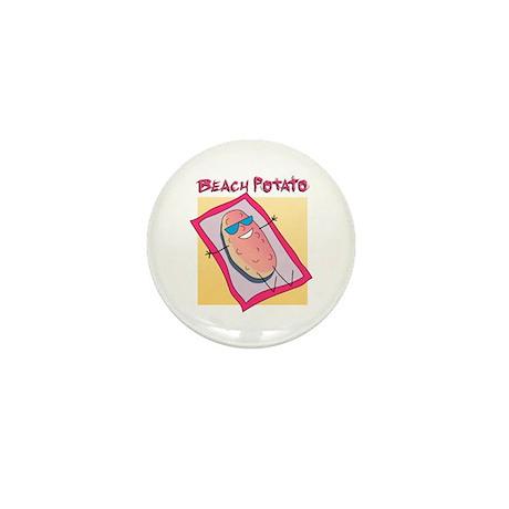 Beach Potato Mini Button (100 pack)