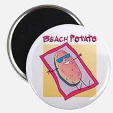 "Beach Potato 2.25"" Magnet (100 pack)"