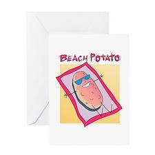 Beach Potato Greeting Card