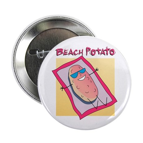 "Beach Potato 2.25"" Button (100 pack)"