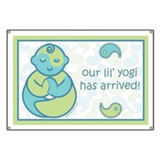 Our Lil' Yogi Arrival Banner