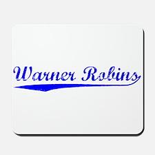 Vintage Warner Rob.. (Blue) Mousepad