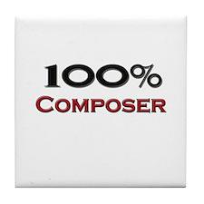 100 Percent Composer Tile Coaster