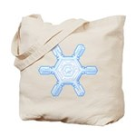 Flurry Snowflake VII Tote Bag