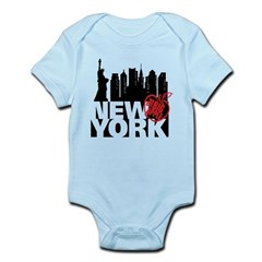 New York Infant Bodysuit