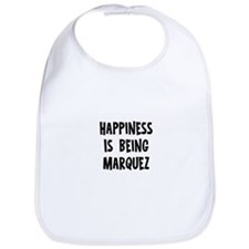 Happiness is being Marquez Bib