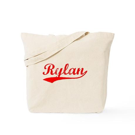 Vintage Rylan (Red) Tote Bag