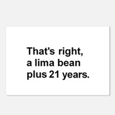 Lima Bean? Postcards (Package of 8)