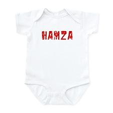 Hamza Faded (Red) Infant Bodysuit