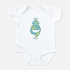 Yoga Baby : Blue & Green Infant Bodysuit