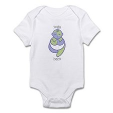 Yoga Baby : Purple & Green Infant Bodysuit